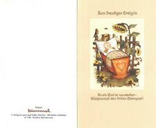 """RARITÄT Original Hummel Faltkarte um 1970 Ars sacra Verlag """"4010""""mit Umschlag"""