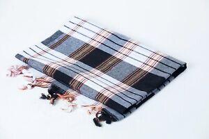 Turkish Cotton Peshtemal Towel Fouta for Beach Bath Spa Yoga Gym Pool A+ Quality