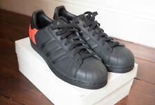 Adidas Originals Superstar Limited Edition - Size UK9 - Black & Orange