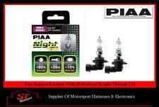 Piaa HB3 noche Tech Bombillas 60W HE825 90% más brillantes