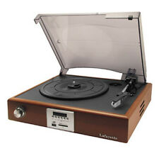 GIRADISCHI LAFAYETTE OLD DISCO USB SD MMC CARD DISPLAY RECORD PLAYER TURNTABLE