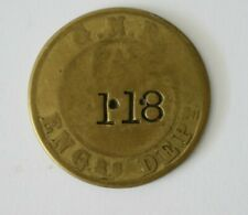 More details for great northern railway pay check token 118   (ref801)