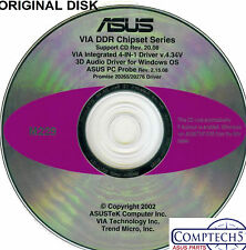 ASUS GENUINE VINTAGE ORIGINAL DISK FOR A7V266-E Motherboard Drivers Disk M229