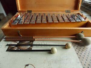 Sonor Glockenspiel  Xylophon im Holzkasten