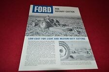 Ford Tractor 908 Rotary Cutter Dealer's Brochure LCPA3
