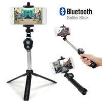 Selfie-Stick-Stativ Bluetooth für iPhone Samsung Einbeinstativ Handheld Remote