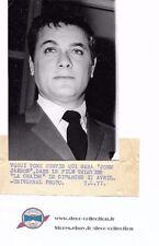 Photo Tony Curtis/acteur Amicalement votre/originale/presse argentique/années 70