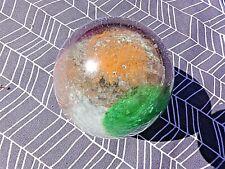 Presse-papier vintage-boule en verre avec inclusions