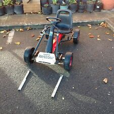 VINTAGE KETTLER  METAL GO CART FROM THE 1970S IN GOOD CLEAN WORKING CONDITION