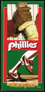 1985 Philadelphia Phillies Media Guide