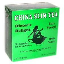China Slim Tea Dieter's Herbal Tea Delight 36 Bags for Men & Women