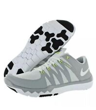 a8ce2d58528f2 MEN S NIKE FREE TRAINER 5.0 V6 TRAINING SHOES WHT WHT GREY 719922 100 Size  11.5