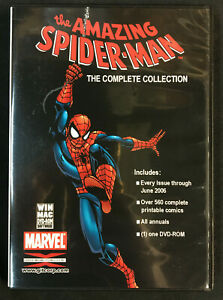THE AMAZING SPIDER-MAN COMPLETE COLLECTION DVD-ROM 2006