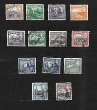 Cyprus 1938 KGVI pictorials, used selection to 9pi (8247)
