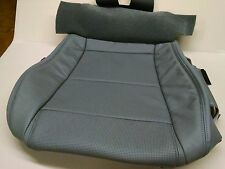 Acura MDX Driver Seat Cushion Only in Leather Quartz Grey