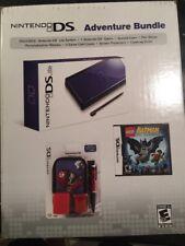 Nintendo DS Lite Blue System Bundle Lego Batman Adventure Bundle Brand New