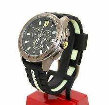 NEW Scuderia Ferrari Race Fan XX 830244 Copper Chronograph Black Men's Watch