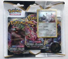 Pokemon TCG: Sword & Shield Rebel Clash 3-Pack Blister :: Duraludon :: 3 Booster