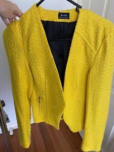 Bardot Yellow Blazer