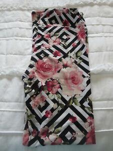 Lularoe Brand New One Size/OS Floral Leggings