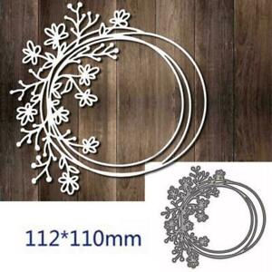 Shrub Flower Metal Cutting Dies Stencil DIY Scrapbooking Paper Sale Craft H5N5