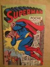 SUPERMAN POCHE (Sagedition) - T25 : septembre 1979