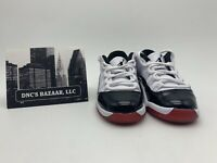 "Air Jordan 11 Retro Low (PS) Size 11.5C ""Concord Bred"" 505835 160"