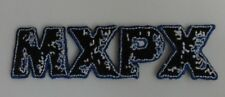 MXPX Embroidered Iron On Patch (Band, Punk Music) New Rare