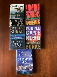 James Lee Burke Lot of 5 First Editions     3 SIGNED copies hardcovers w/DJ