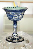 """Vaso in ceramica """"LA LANTERNA"""" Albisola primi del '900."""