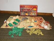 VINTAGE US ARMY 1981 BATTLE OF BLOODY RIDGE MILITARY ACTION PLAYSET IN BOX