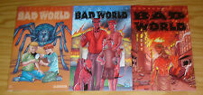 Bad World #1-3 VF/NM complete series - warren ellis - regular covers - avatar