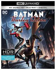 BATMAN & HARLEY QUINN  (4K ULTRA HD) - Blu Ray -  Region free