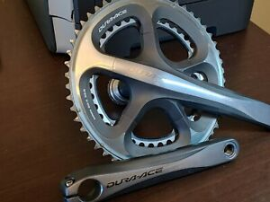 Shimano Dura Ace FC-7950 / 7900 Crankset 175mm 53/39 10 Speed Compact w/BB