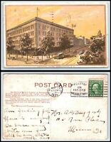 WASHINGTON DC Postcard - The National Hotel M30