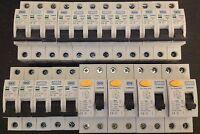 BG British General MCB Circuit Breaker RCD Multi Size 6A 10A 16A 20A 32A 40A 50A