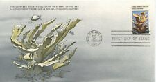 COLLECTION TIMBRES DE LA MER FONDATION COUSTEAU / FAUNE POISSON COQUILLAGE 1980