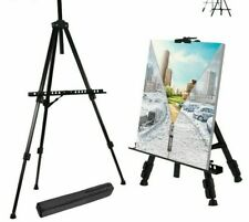 Alloy Metal Sketch Easel Stands Foldable Travel Portable For Artist Art Supplies