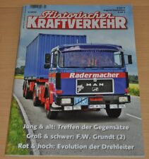 Historischer Kraftverkehr HIK 4/14 Henschel HS11HK Magirus Metz MAN F.W Grundt