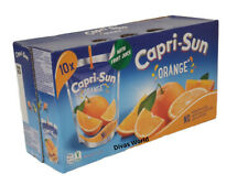 Capri Sun Jus d'Orange Boisson sachets Pack de 4 BOX X 200 ml Pas de couleurs artificiels