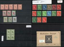 FINLAND: 1875-1931 Collection of Used & Unused Examples - 7 Stock Cards (33458)