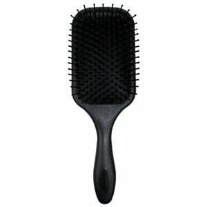 Denman D83 Large Paddle Cushion Thick Hair Brush Blow-Drying Detangling Black