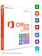 ✅Microsoft Office 2019 Professional Plus ✔️Original Lizenz Key 🔑 Mailversand