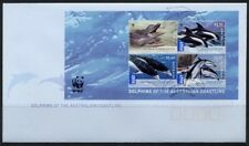 2009 Australia - WWF Aust Dolphins Mini sheet FDI FDC