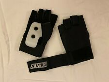 Gravity slide gloves for downhill skateboarding and street