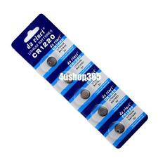 CR1220 BR1220 DL1220 ECR1220 LM1220 3V Button Coin Cell Battery Bulk Lot 5 Pcs