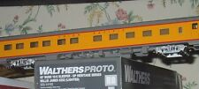 LIGHTED Walthers Proto 14102 UP Heritage Series AC&F 85' Budd 10-6 SLEEPER NIB