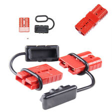 4X Battery Quick Connector Kit 12-36 volts Plug 6AWG/8AWG/10-12AWG Winch Trailer