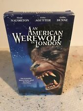 Rare🔶 Cover - An American Werewolf In London Vhs