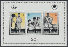 Belgium and Colonies Stamps Sheet